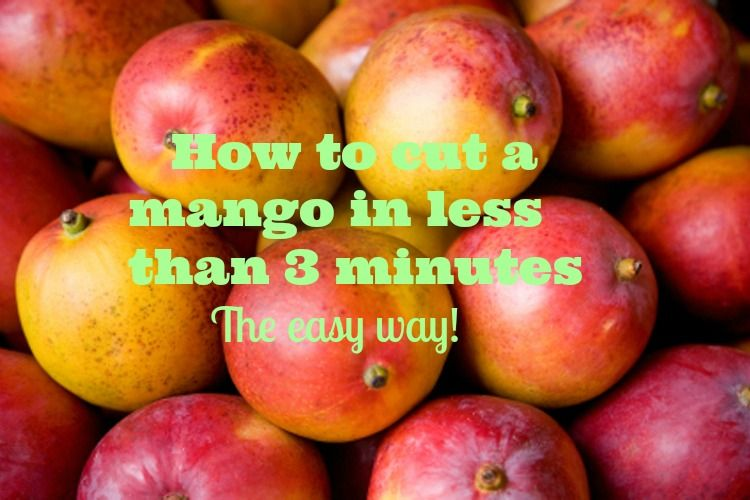 Mangoes are a summertime family favorite that may be used in a variety of your delicious dishes this season, but when it comes to cutting and peeling these bad boys it can be anything but fun. Avoid wanting to chuck your mangoes at the wall and use this trick to help you cut your mangoes with ease and in less than 3 minutes!  https://jenerationpeace.wordpress.com/2015/06/07/how-to-cut-a-mango-in-less-than-3-min-the-easy-way/