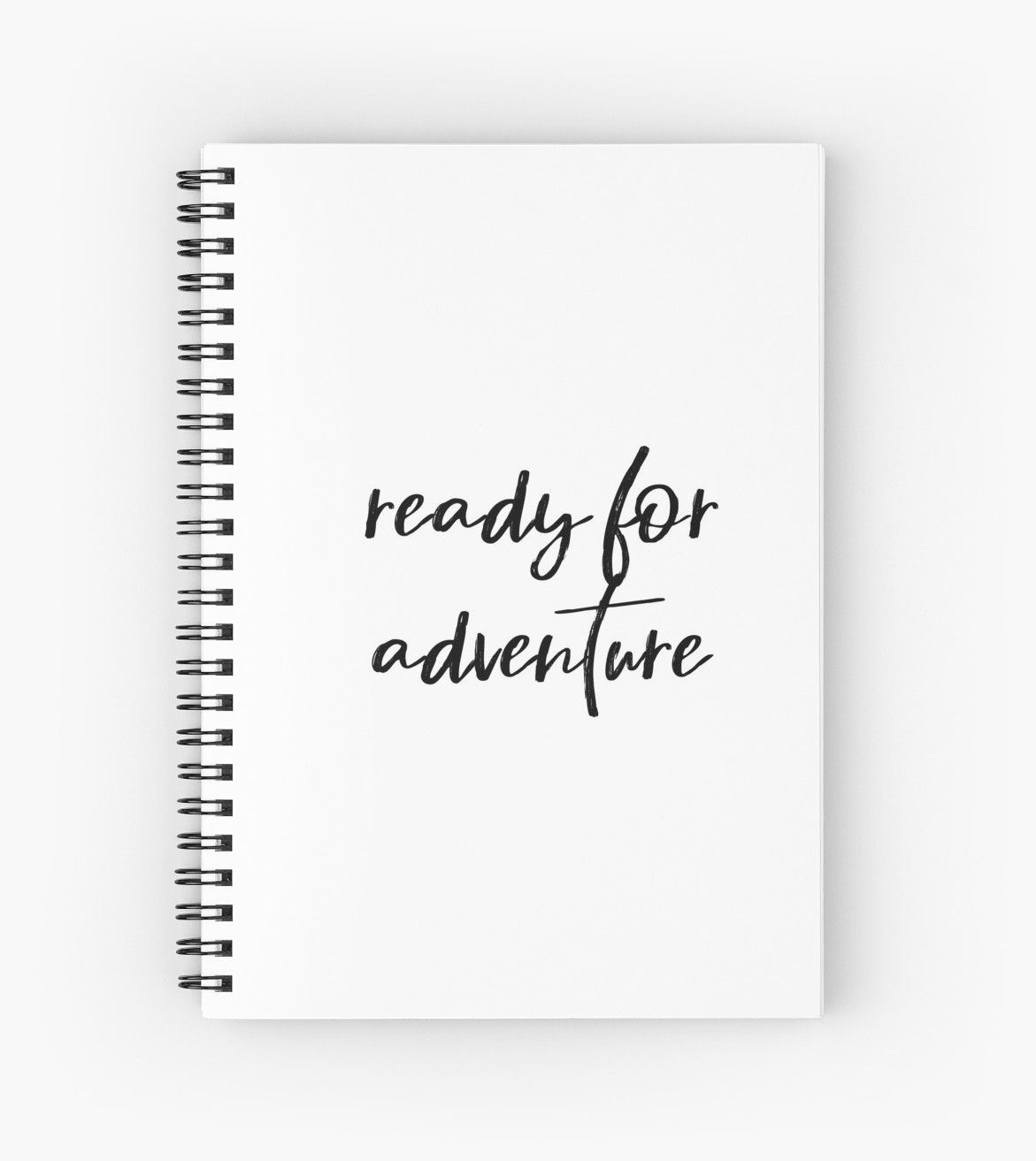 Ready For Adventure Spiral Notebooks By Brightnomad Redbubble Travel Journal Inspiration Ideas Scr Travel Scrapbook Travel Journal Vacation Journal