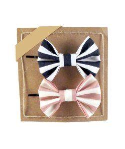 FreenaHair bows - set of two bobby pins