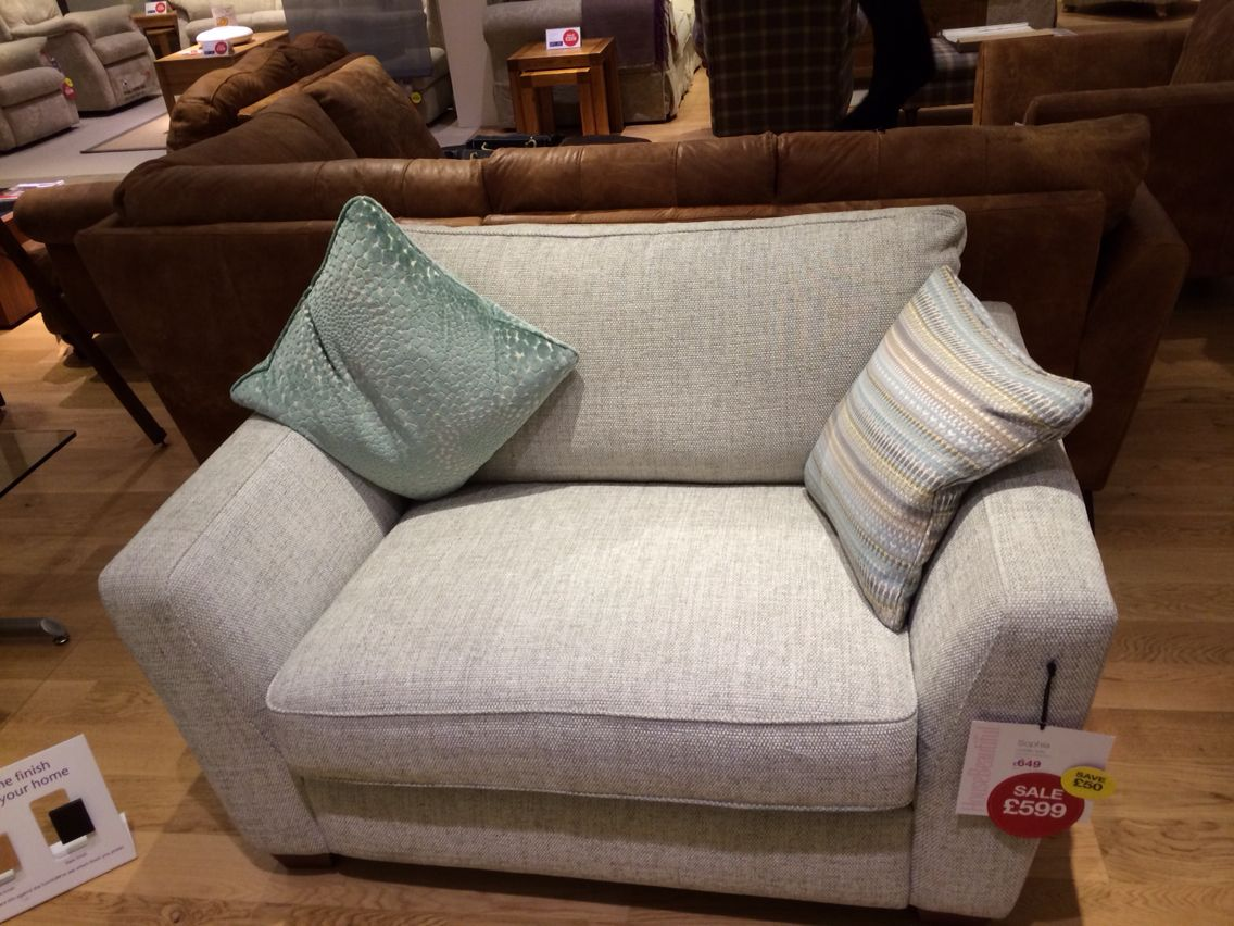 Sophia Cuddler Sofa In Pearl Combination Dfscouk