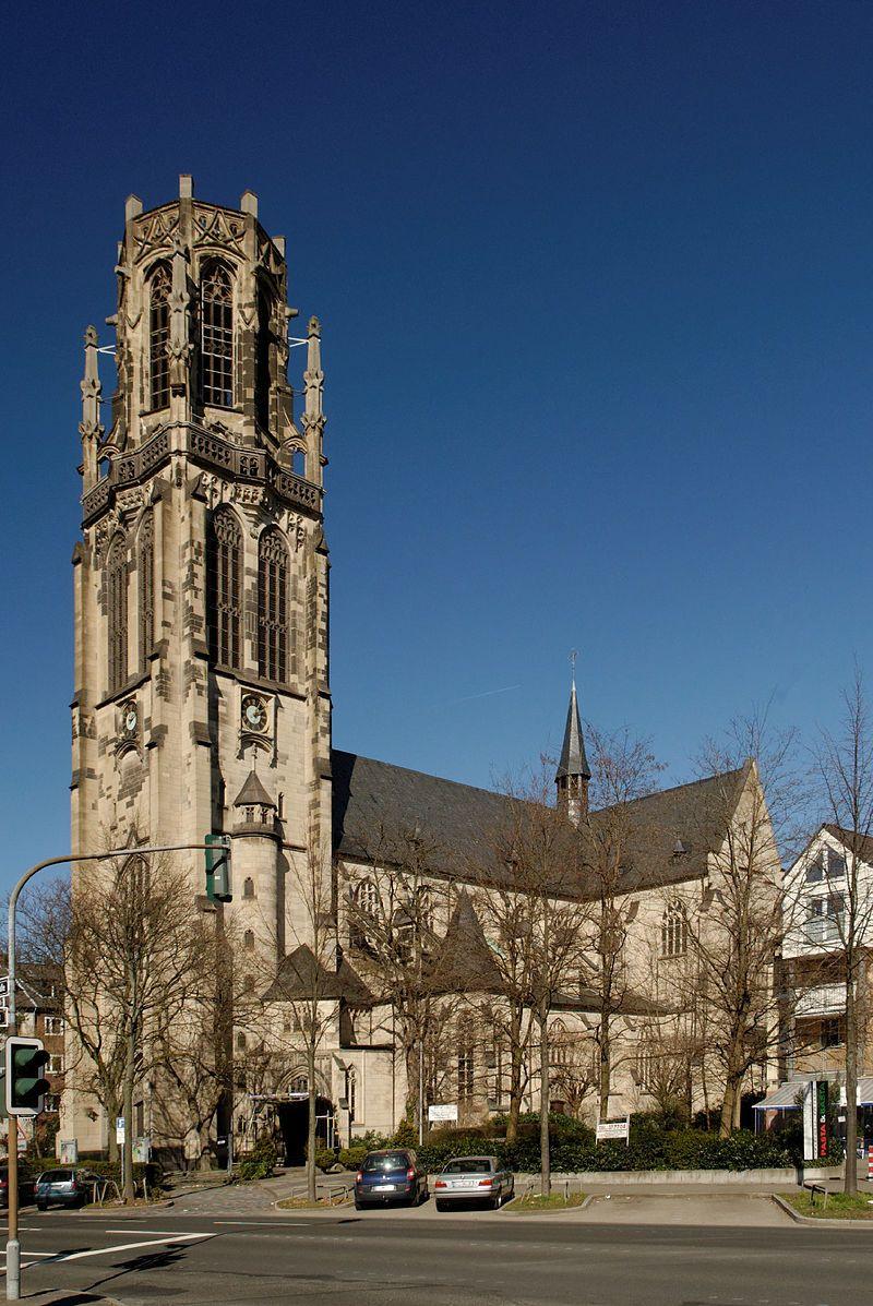Herz Jesu Kirche Dusseldorf Derendorf Herz Jesu Kirchen Dusseldorf