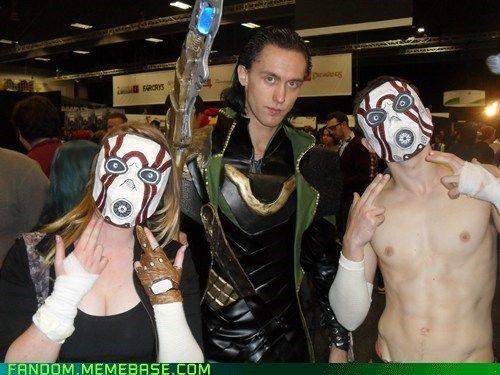 Bandits (Borderlands) and Loki? okay whatevs. cosplay