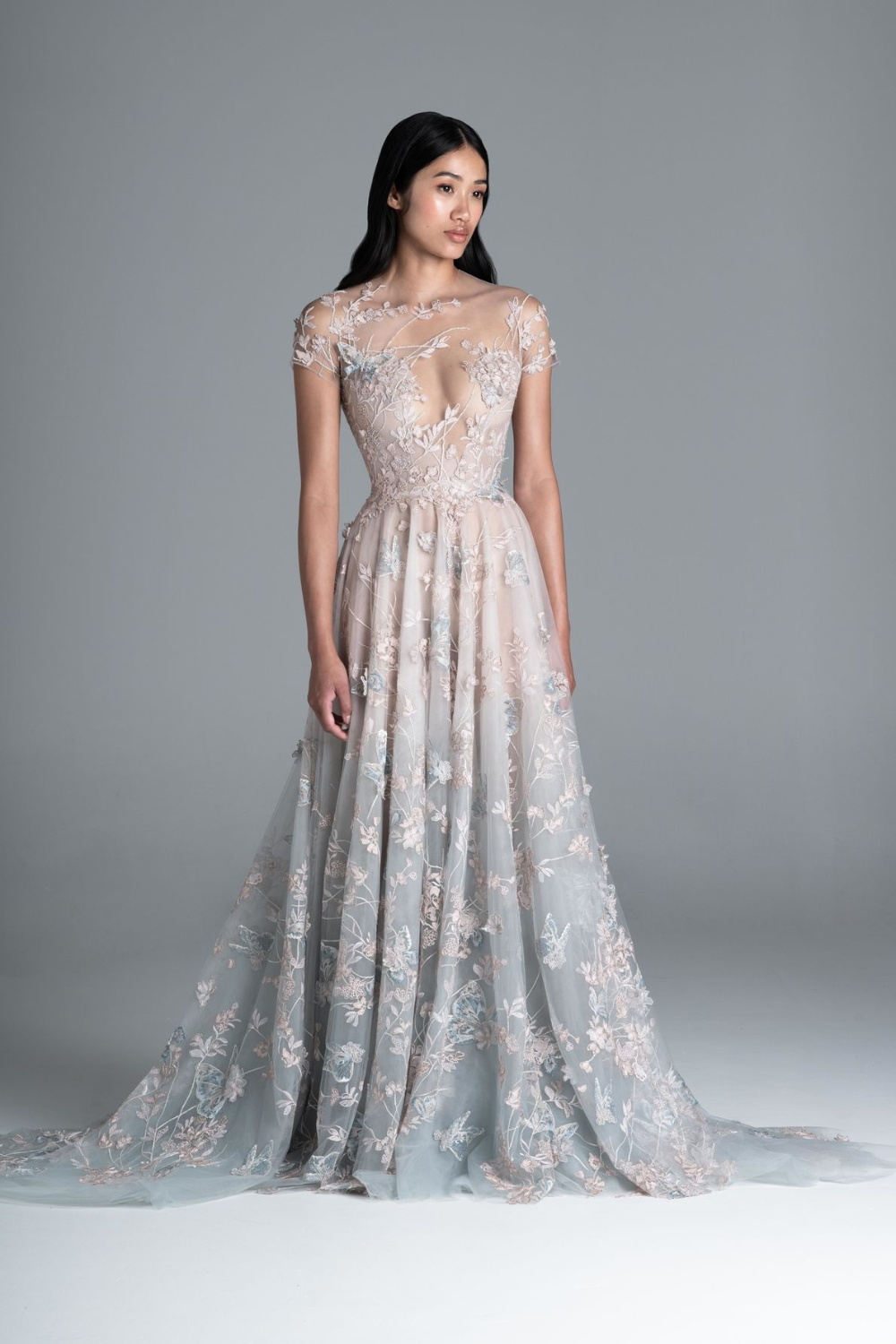 2020 Spring Summer Couture Collection Paolo Sebastian In 2020 Ethereal Dress Gorgeous Dresses Fancy Dresses