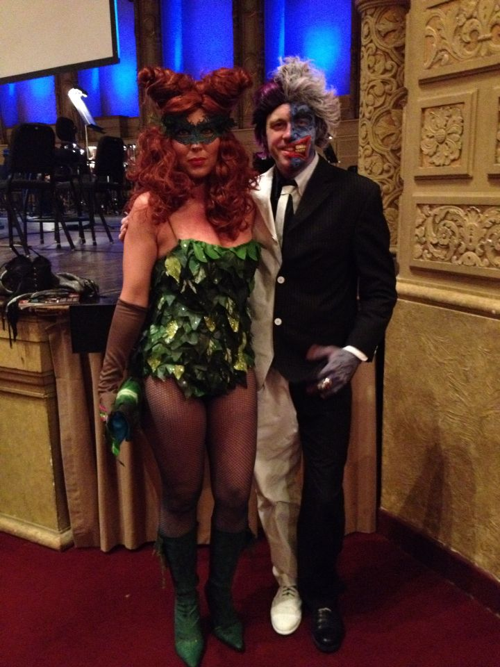 Poison Ivy and Two Face