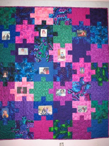 I Love Puzzle Quilts Puzzle Quilts Puzzle Quilt