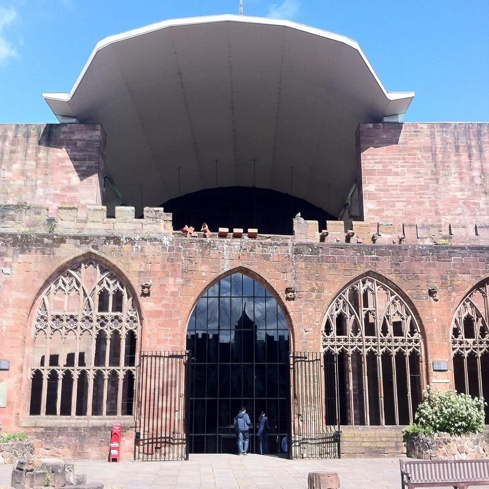 Places To Visit Coventry Uk: Basil Spence's Coventry Cathedral 1962