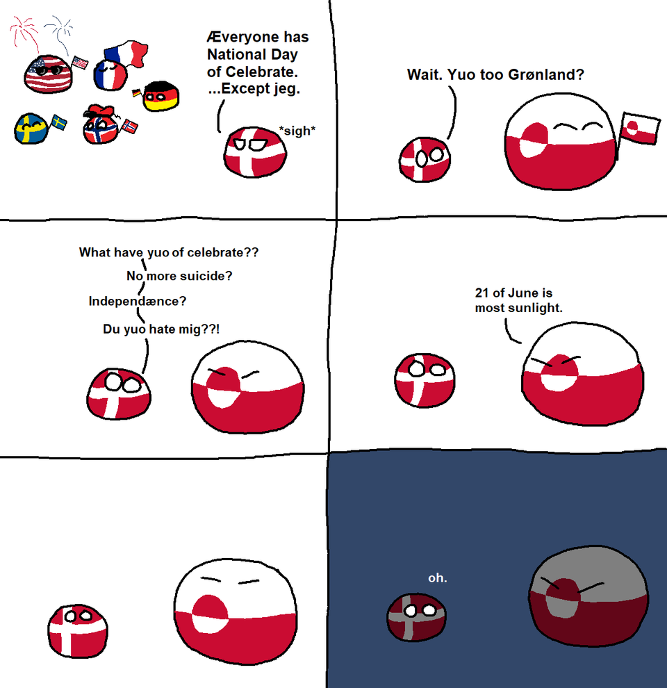 Polandball Greenland 9gag