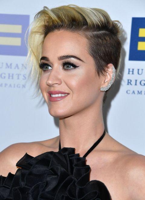 Wunderschone Aussehende Pixie Frisur Ideen Katy Perry