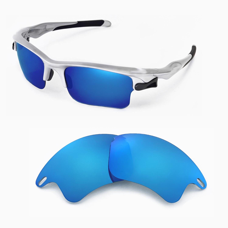 e8f9073493 New Walleva Polarized Ice Blue Lenses For Oakley Fast Jacket XL ...