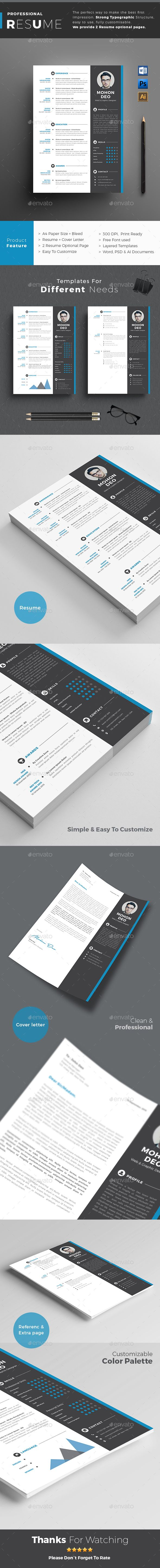 Resume | Simple resume, Cv template and Template
