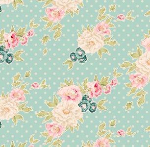 Tilda Floral fabric online Australia, Spring Lake fabric | Black ... : quilting supplies australia - Adamdwight.com