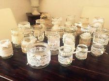 Vintage Hochzeit Deko Set 30teilig Shabby Vasen Teelichthalter Windlichter Vintage Hochzeit Deko Hochzeit Deko Hochzeit Deko Tisch
