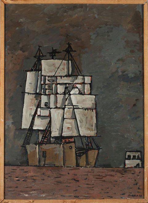 Gonzalo Fonseca (1922-1997) Untitled, 1958
