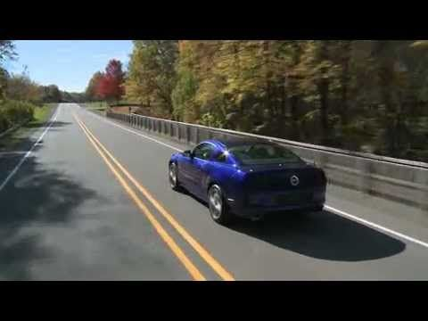 Ford Mustang Gt Running Video With V  Hp Engine Sound