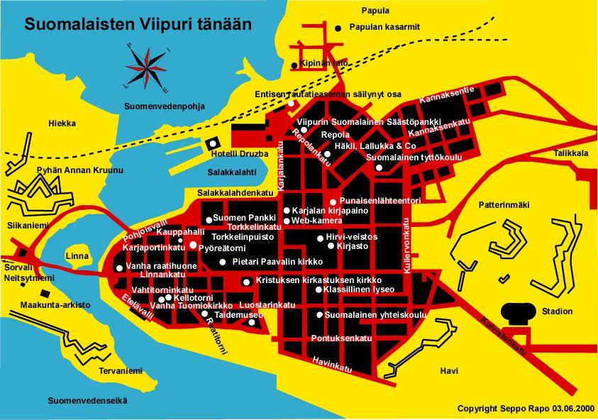 Suomalaisten Viipuri Tanaan Finland History Historia