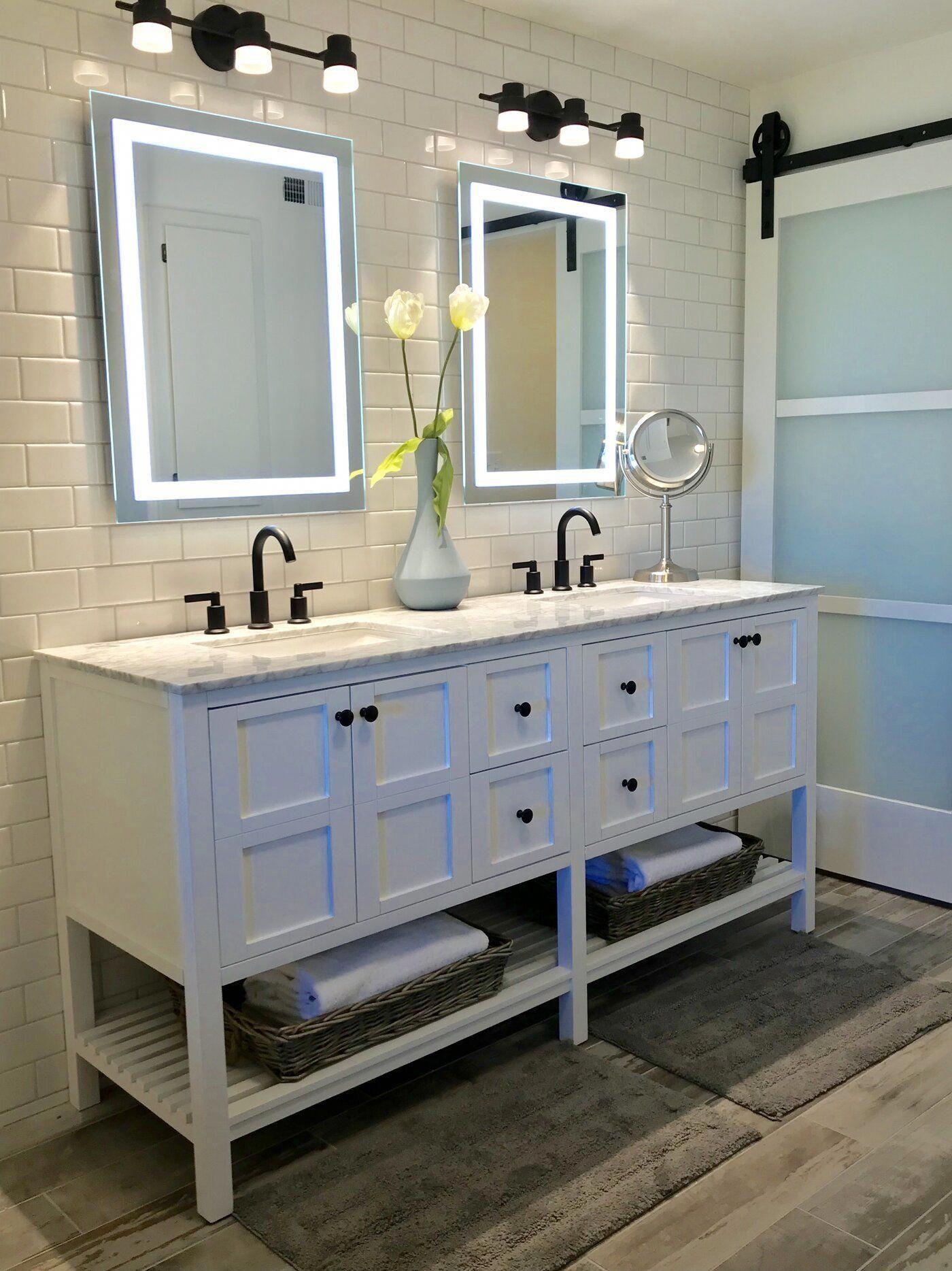 Caldwell 72 Double Bathroom Vanity Set In 2020 Bathroom Layout Small Bathroom Modern Bathroom