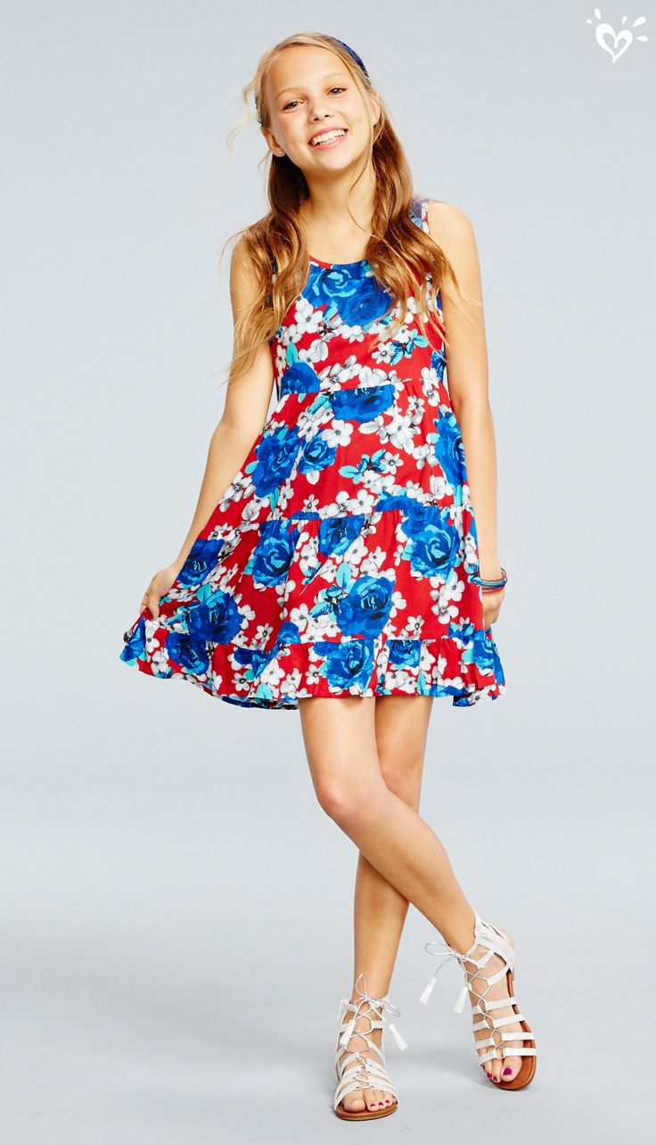 foto de Fun and easy style Looking extra cute in a floral fit and