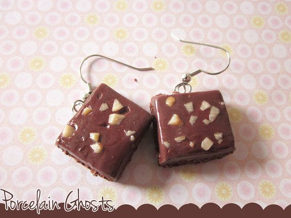 Hey, I found this really awesome Etsy listing at https://www.etsy.com/listing/129083275/chocolate-scented-polymer-clay-brownie