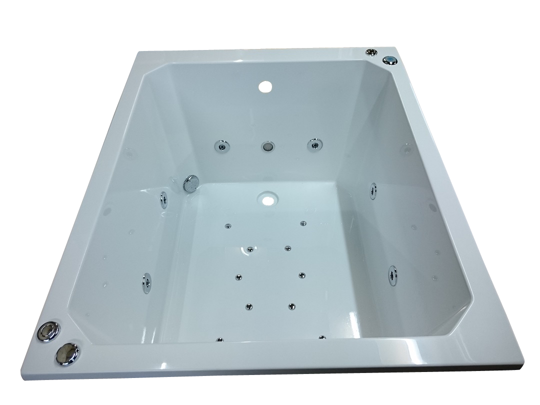 1200 x 1000 Oriental 20 Jet Whirlpool Bath | Japanese Soaking Tubs ...