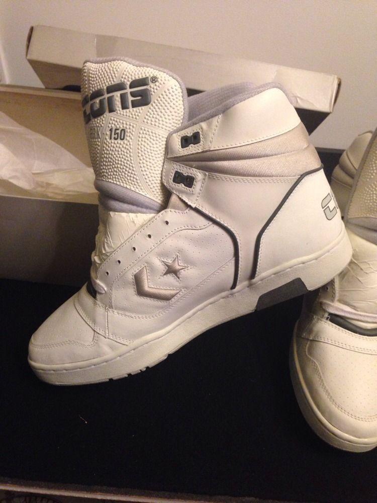 8455f25c9227 Vtg Converse ERX Cons 150 Basketball Hi Shoes Tops 90`s 80`s Larry Bird  Magic