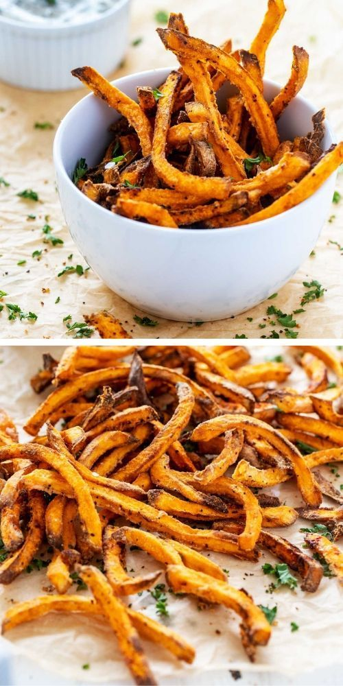 Air Fryer Sweet Potato Fries Wendy Polisi Recipe