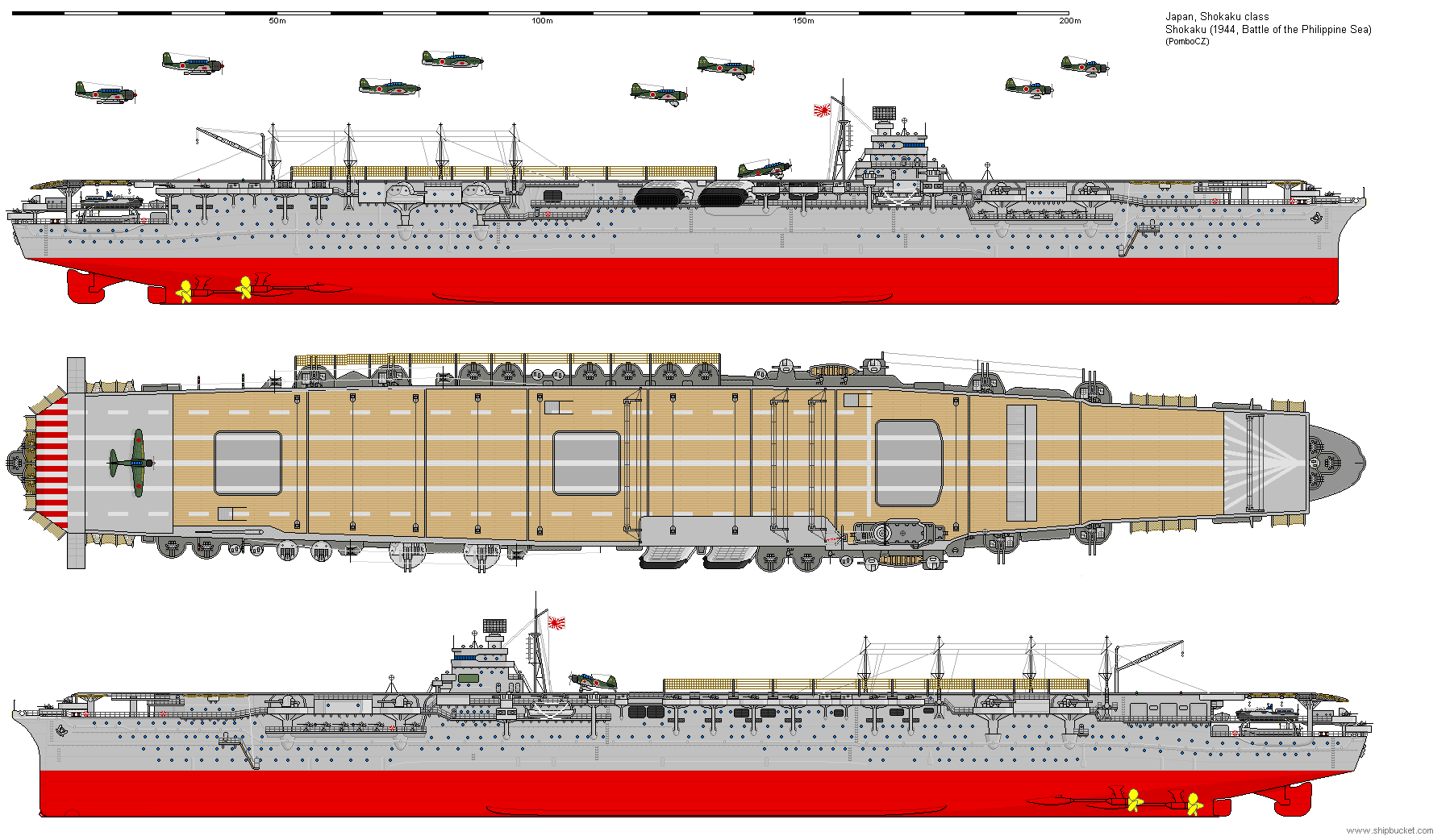 Japonia / CV Shokaku 1944.