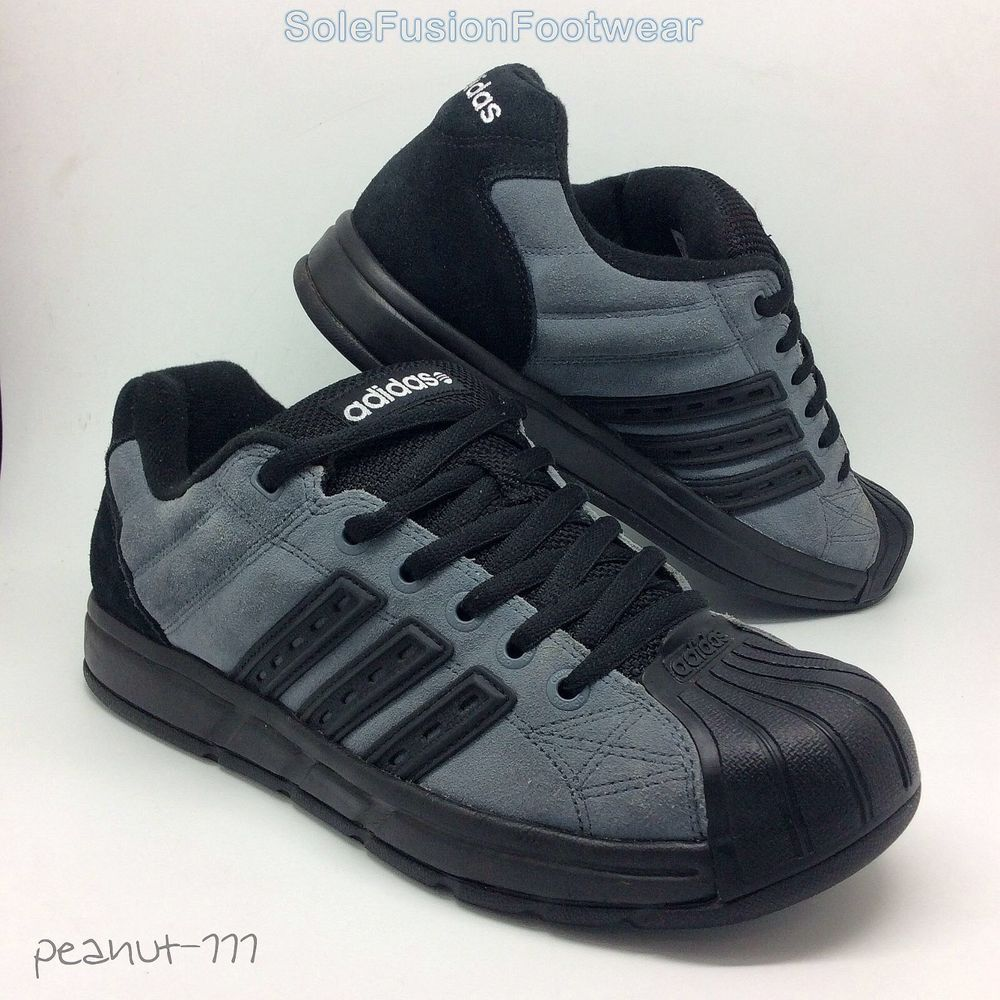official photos 4b330 3f03f adidas Mens Metrum Superstar Trainers Black sz 7.5 Skate Sneakers US 8 EU  41 1 3   eBay