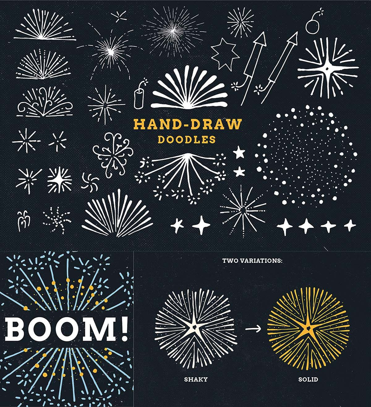 Creative Ideas To Draw Paint Fireworks