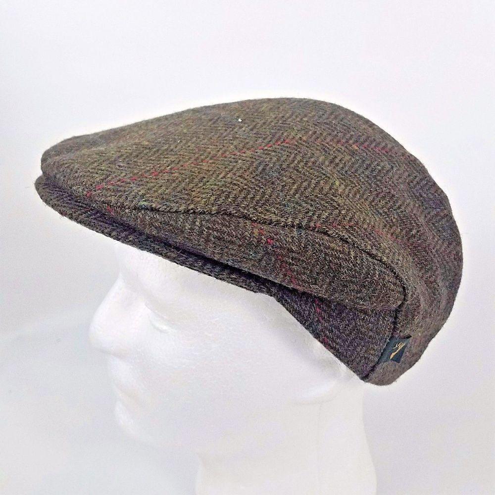 bed923c0 Mucros Weavers Trinity Wool Flat Cap Hat Large Tweed Brown Herringbone  Newsboy #Mucros #FlatCap #wool #herringbone #tweed #hat #cap #ireland #irish  #newsboy