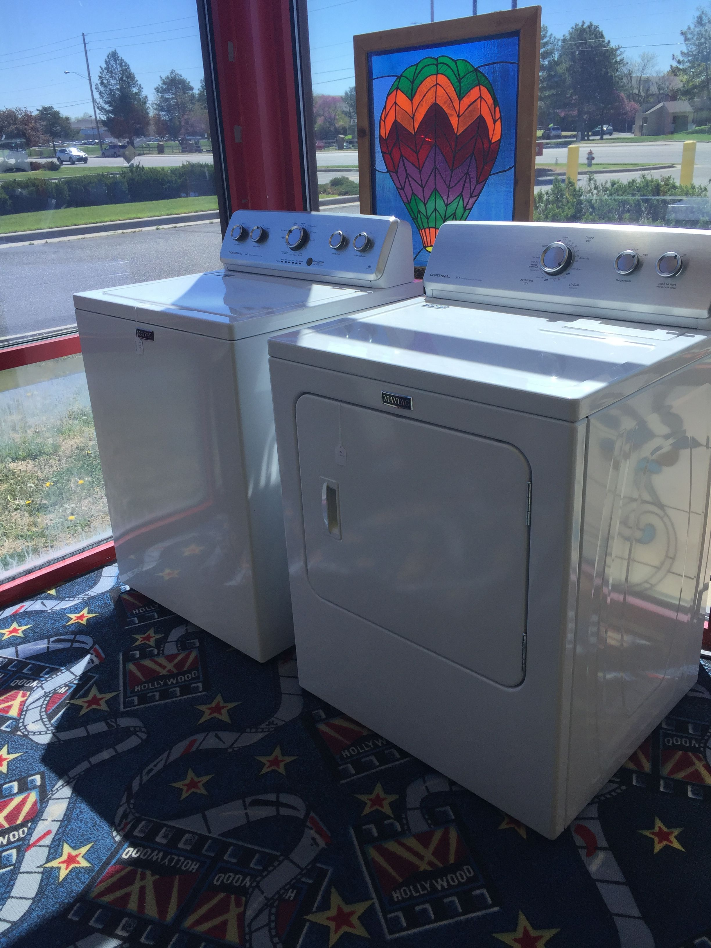 Maytag Centennial Washer And Dryer 350 Each Or 600 For