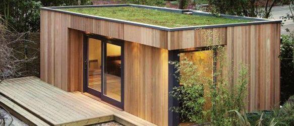 Een duurzame zeecontainer als basis voor een luxe sauna tuinhuis kantoor of woning - Huis in containers ...
