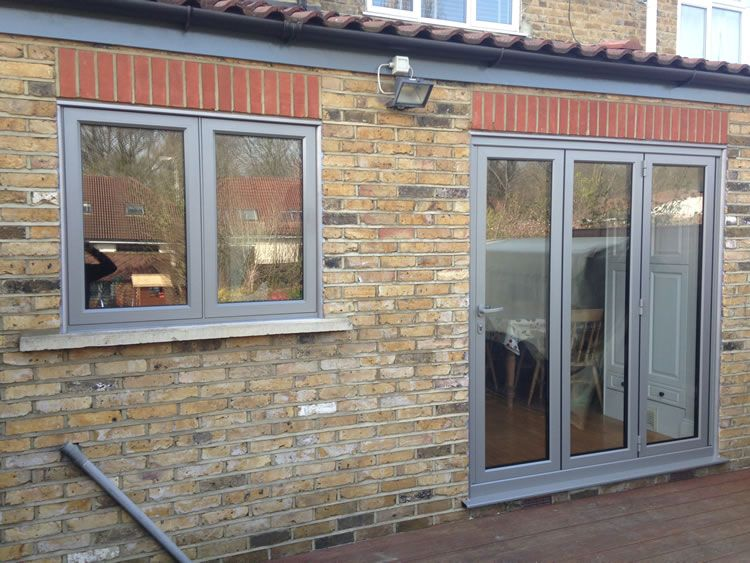 Aluminium rear bedroom window anthracite grey google for North windows and doors