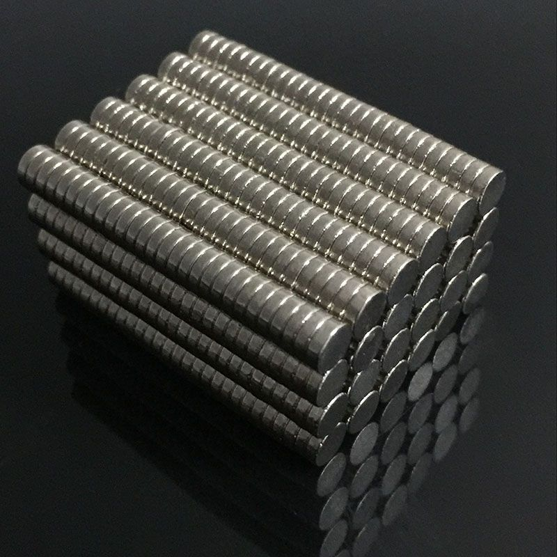 5 Pcs Disc Rare Earth Neodymium N35  8mm x 1mm