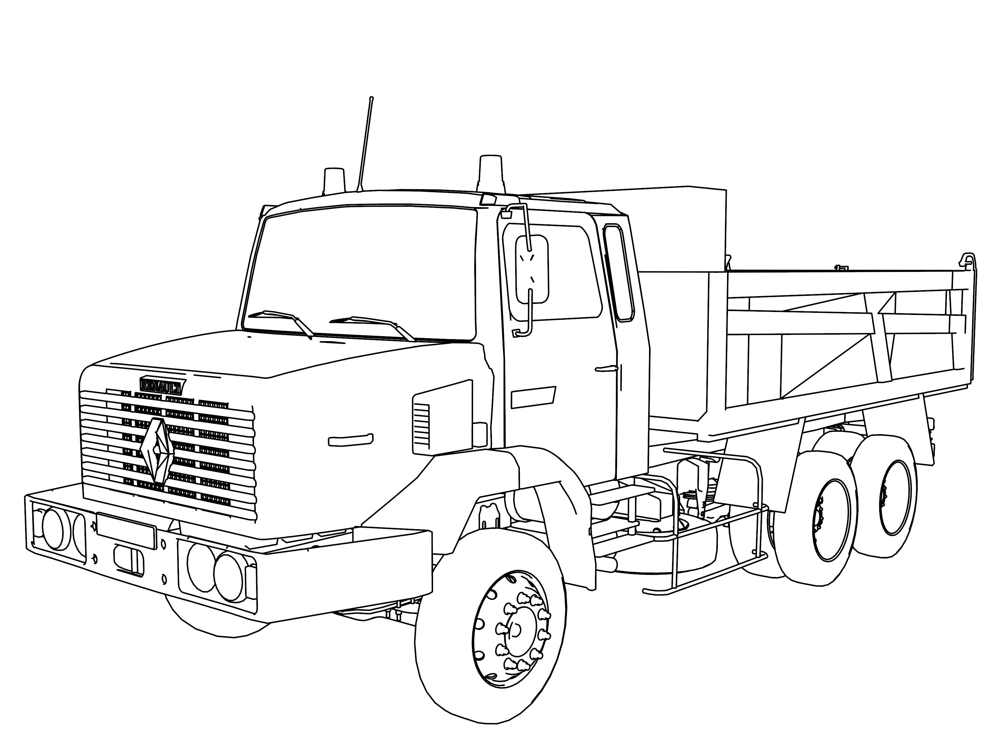Cool Truck Coloring Pages Truck Coloring Pages Monster Truck Coloring Pages Cars Coloring Pages