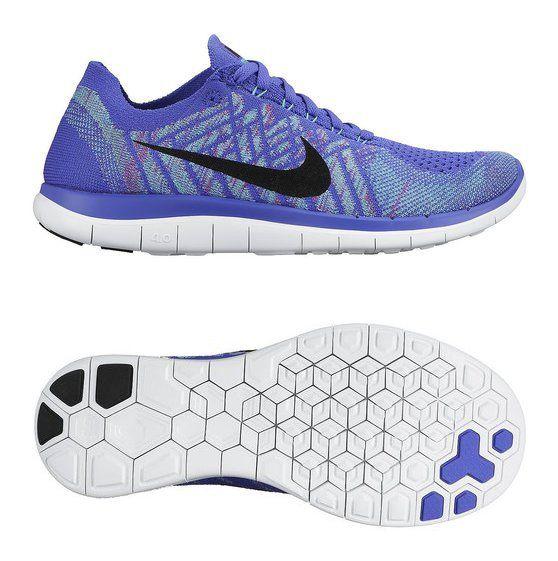 detailed look da2b0 85ed8  200 - Nike Womens Free 4.0 Flyknit Running Shoe Persian Violet Hyper Jade  Fuchsia Flash Black 11  shoes  nike  2015