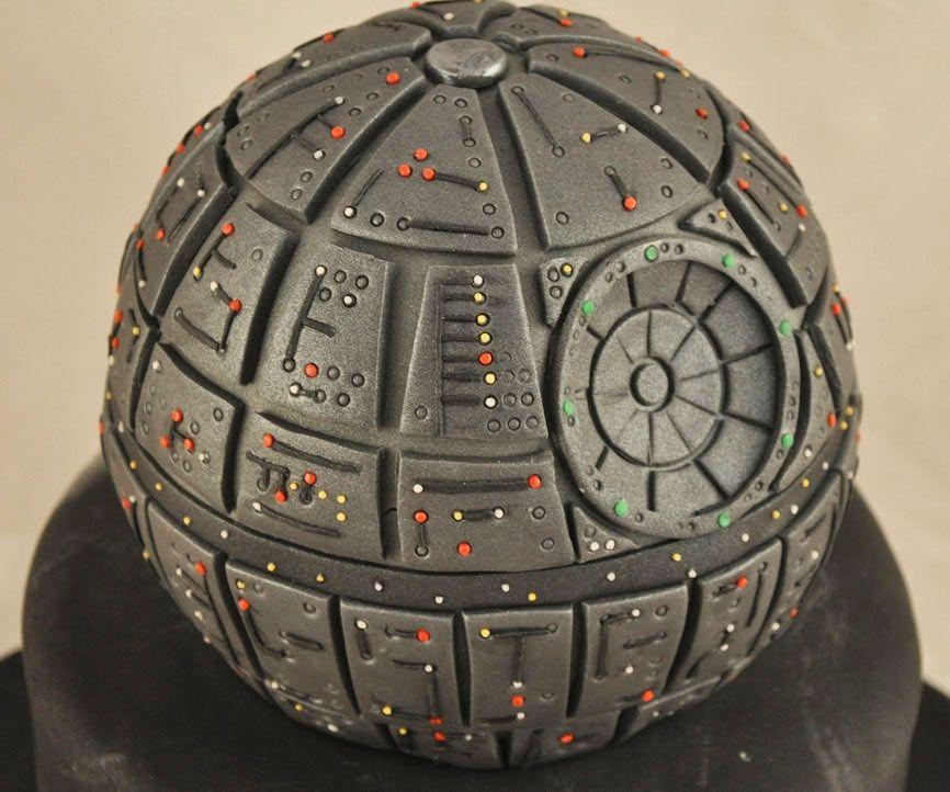 Star Wars Death Star Cake Cakes Pinterest Fondant Tortas Und