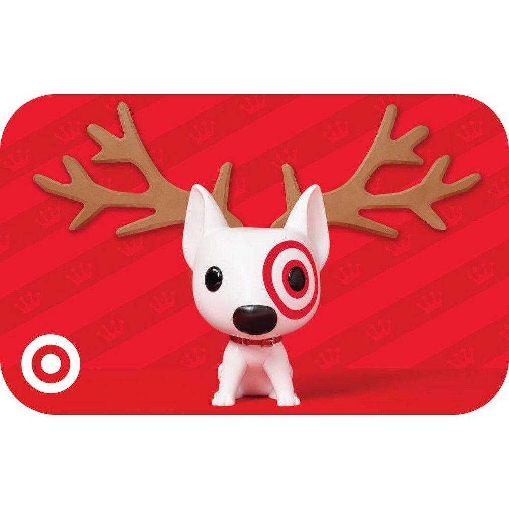 Funko reindeer 200 target giftcards disney gift card