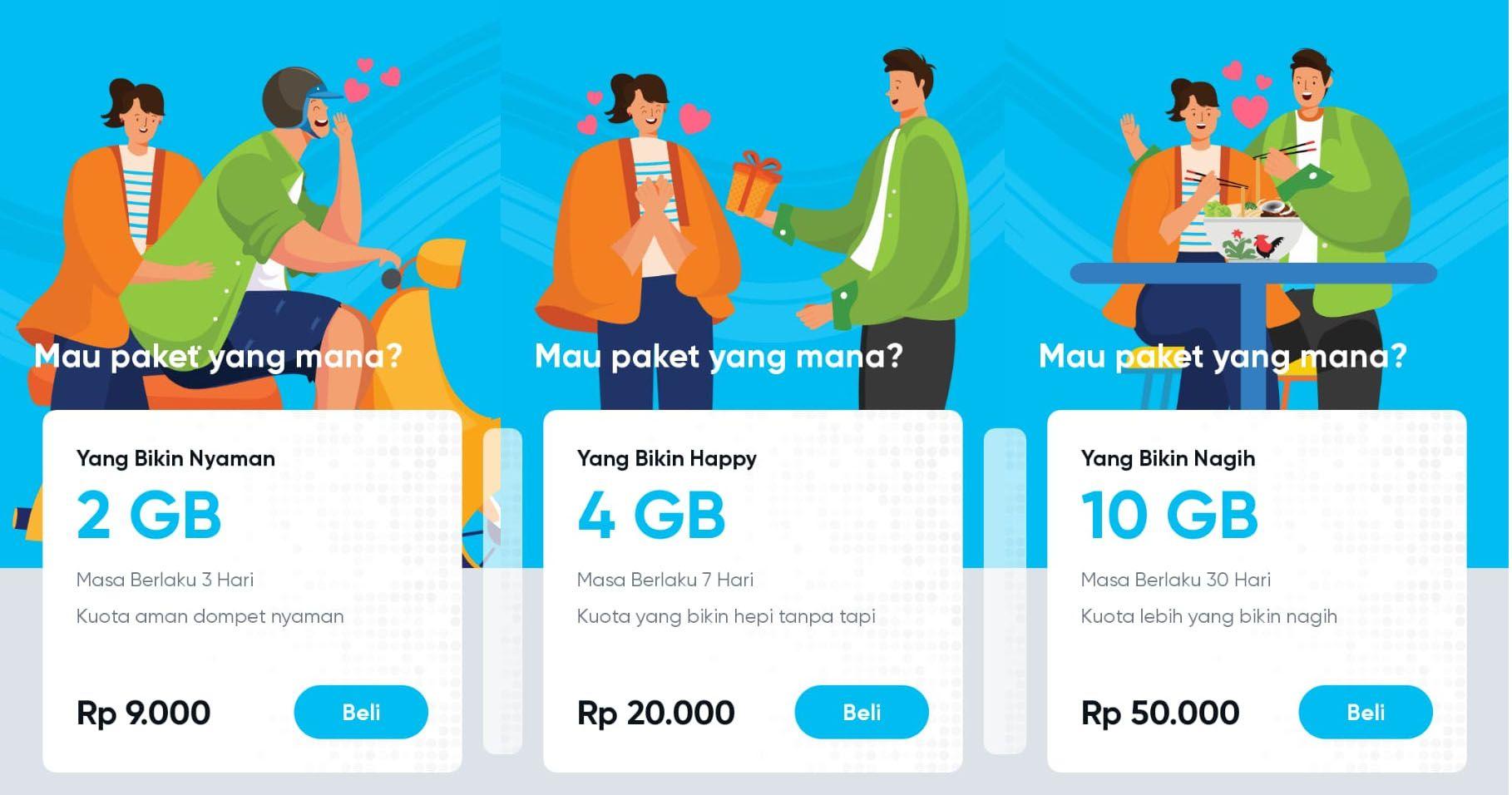 Daftar Paket Internet By U Pesan Aplikasi Boot Camp