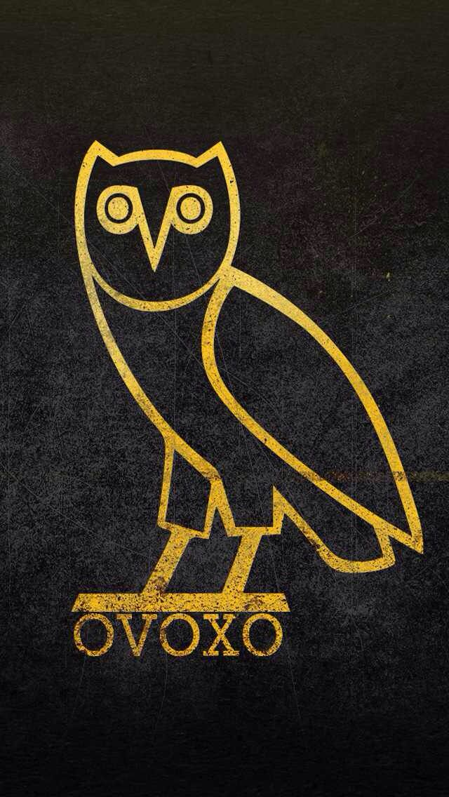 Octobers Very Own Ovoxo Ovo Wallpaper Drake Wallpapers Gold Wallpaper Iphone