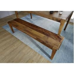 Photo of Ancona bench made of solid wood24