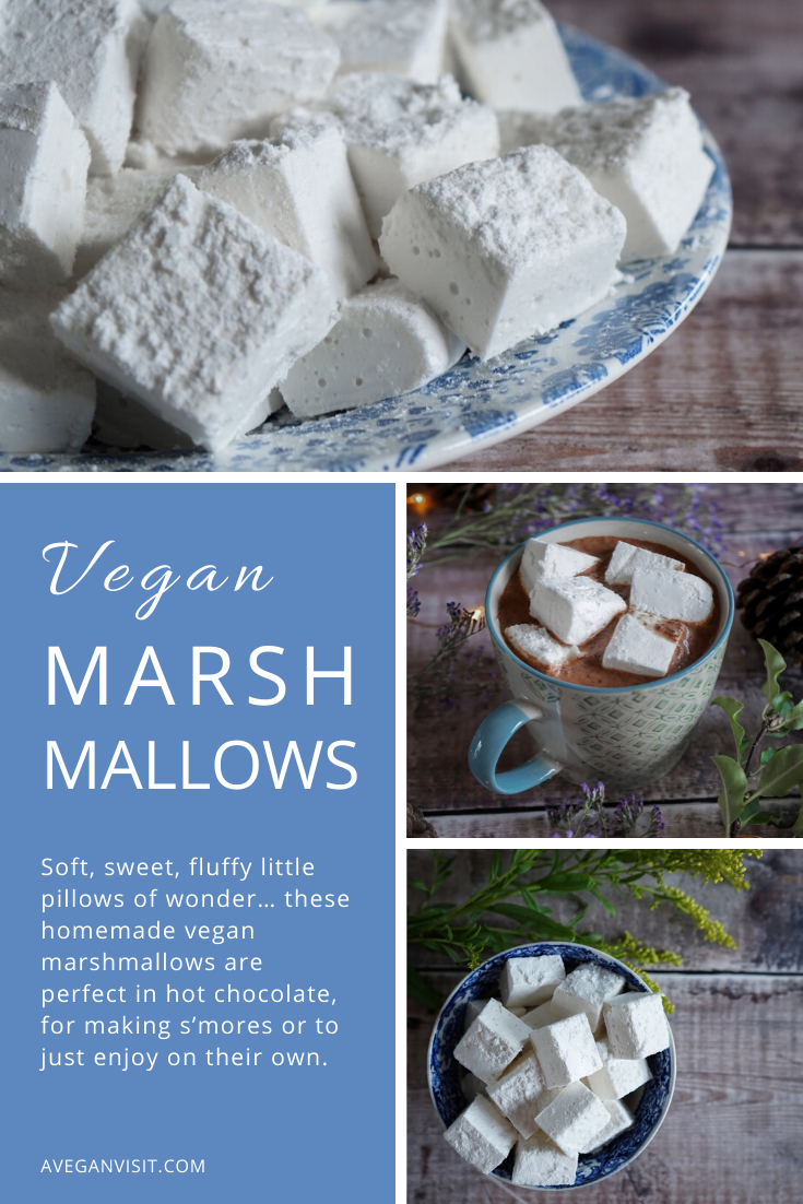 How To Make Vegan Marshmallows A Vegan Visit Recipe Vegan Marshmallows Recipes With Marshmallows Gelatin Free Marshmallows