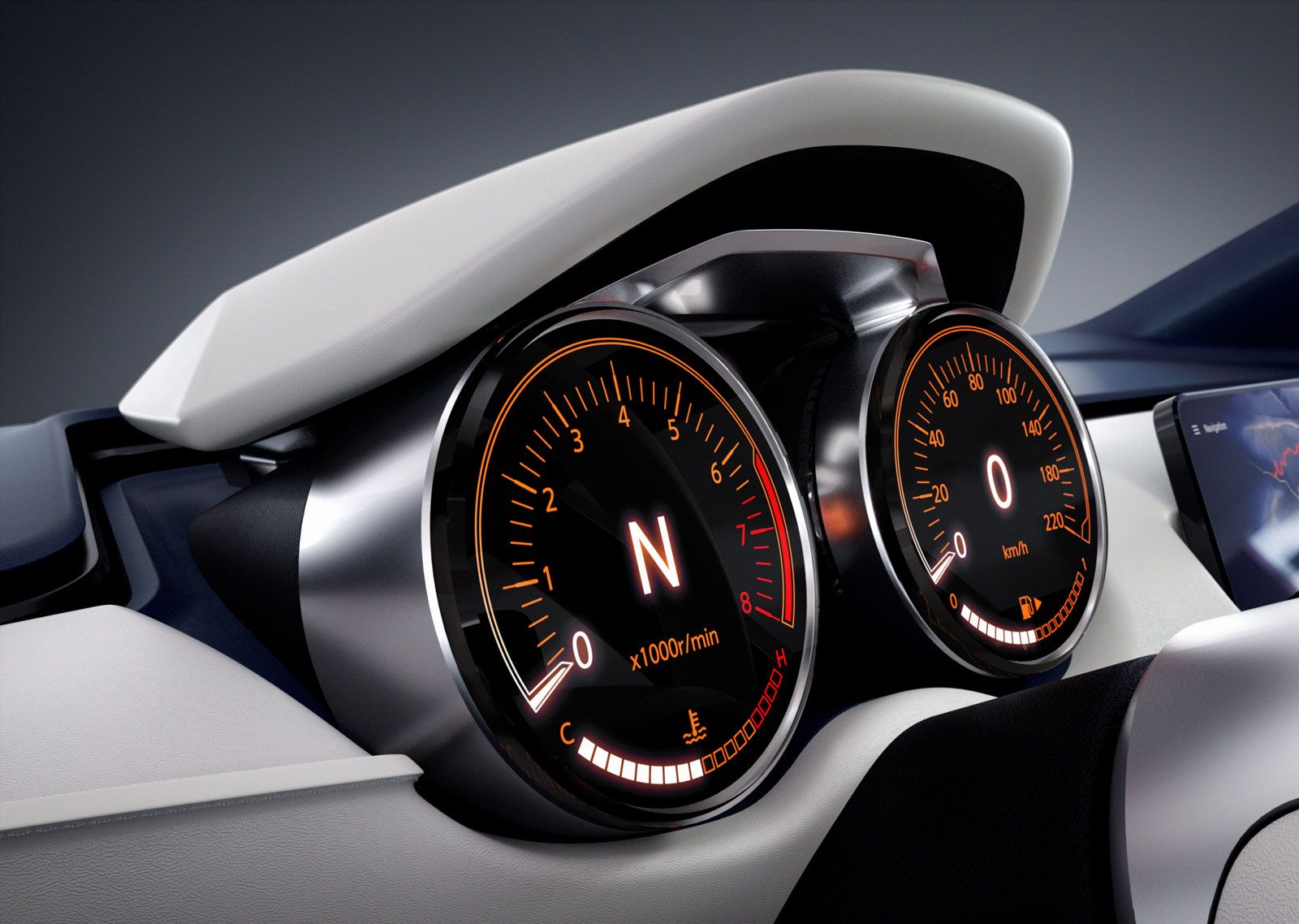 Nissan Sway Concept Interior - Instrument Panel