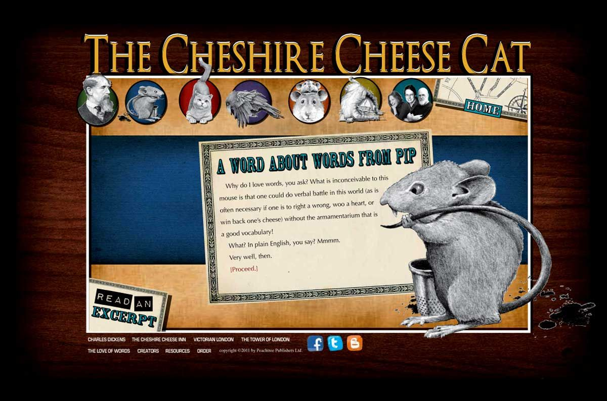 The Cheshire Cheese Cat