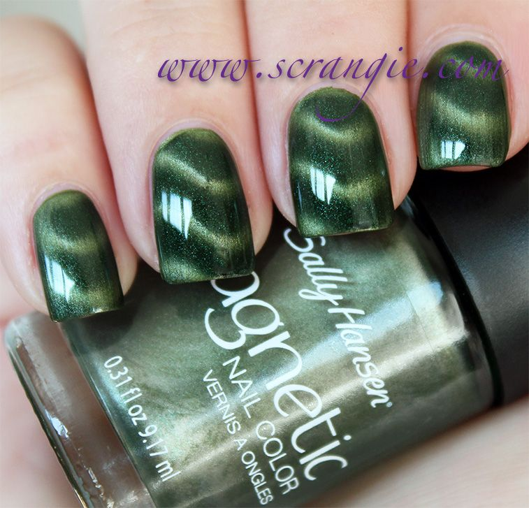 Sally Hansen Magnetic Nail Color Swatches And Review With Images
