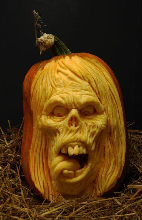 Halloween Pumpkin Carvings Cool Pinterest Pumpkin carvings