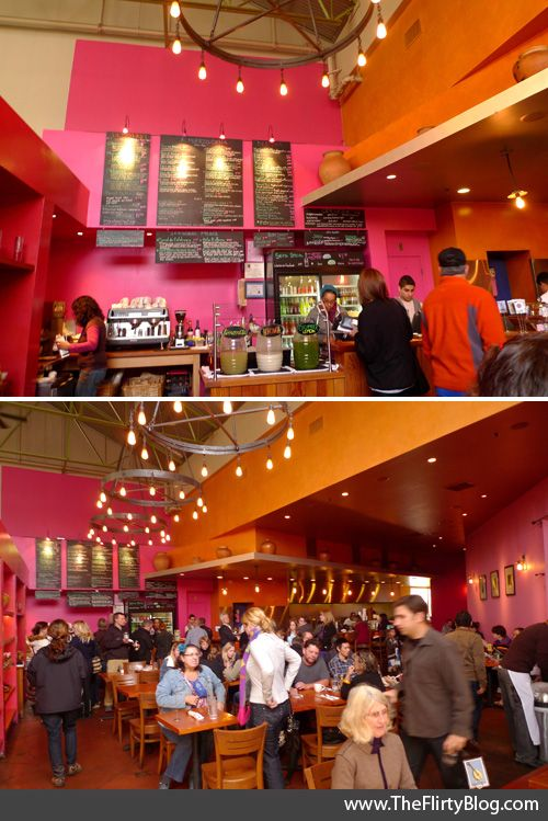 Bright Colors And Lighting Mexican Restaurant Decor Restaurant