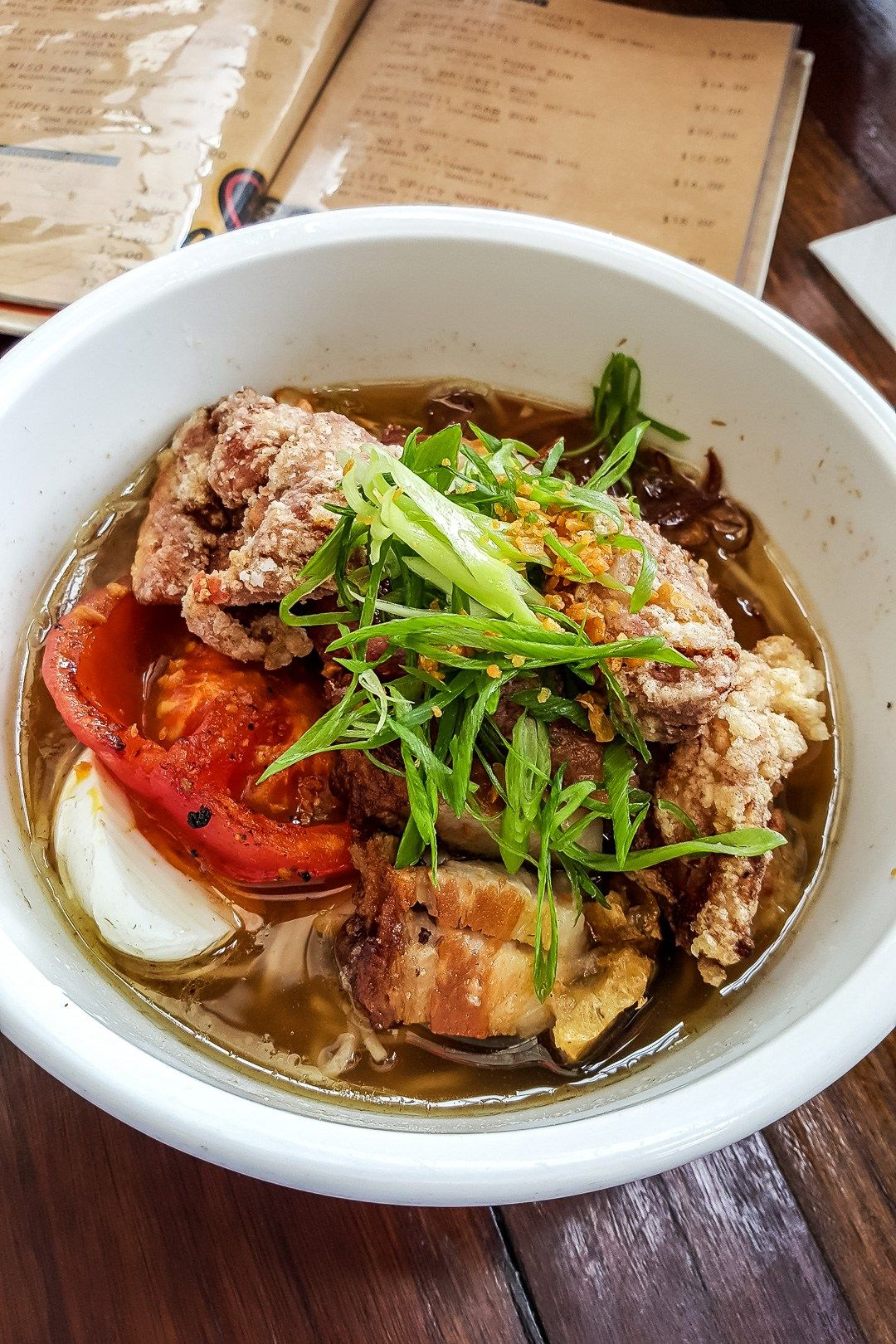Chop Chop Noodle House Auckland New Zealand Ang Sarap Noodle House Asian Cooking Pork Belly