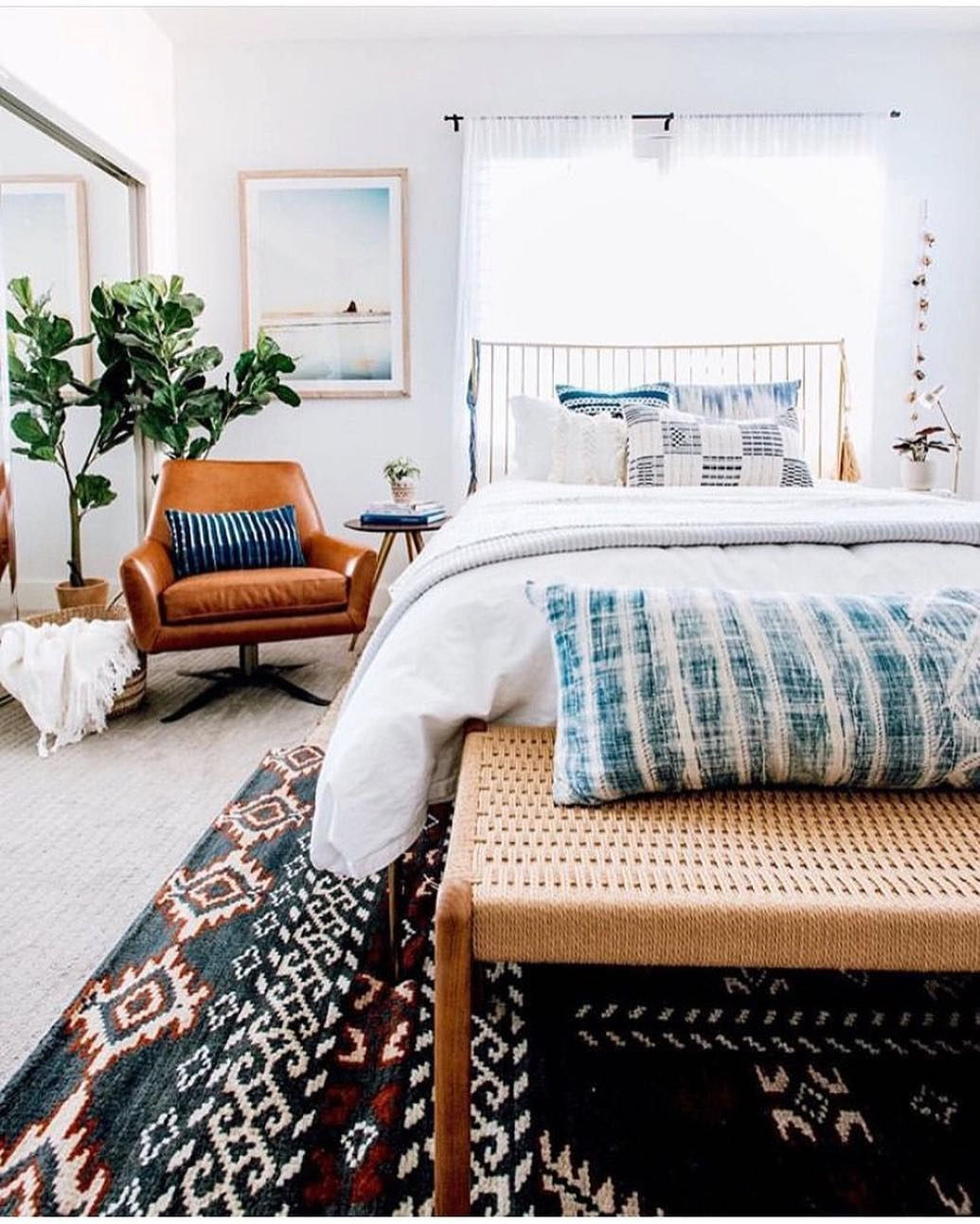 Real Simple On Instagram Dream Weekend Plans Spending A Whole Saturday Morning In Bed Without A Chic Home Decor Eclectic Home Interior Design Bedroom Small Real simple bedroom ideas