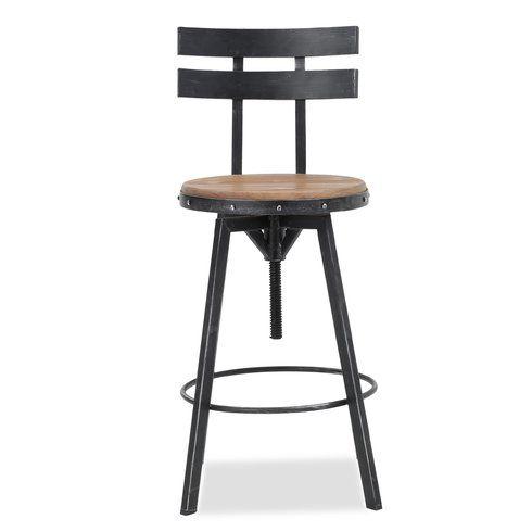 Terrific Sylvania Adjustable Height Swivel Bar Stool Bar Stools Gamerscity Chair Design For Home Gamerscityorg