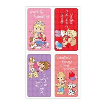 Precious Moments Children S Valentines 32 Boxed Cards Ideas